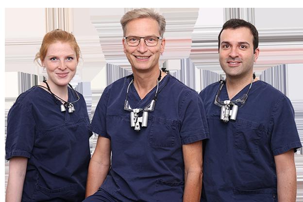 Zahnarztpraxis Dr. Jens Frößler: Jens Frößler(re.) / Miran Maroofi (li.)